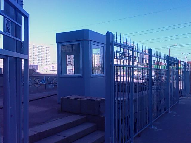 заборы ворота посты охраны москва