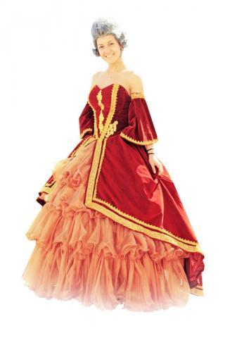 Платье театральное в прокат