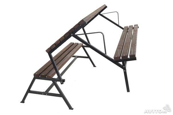 Складные скамейка своими руками